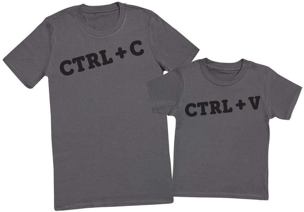 CTRL + C & CTRL + V - Mens T - Shirt & Kids T - Shirt - The Gift Project