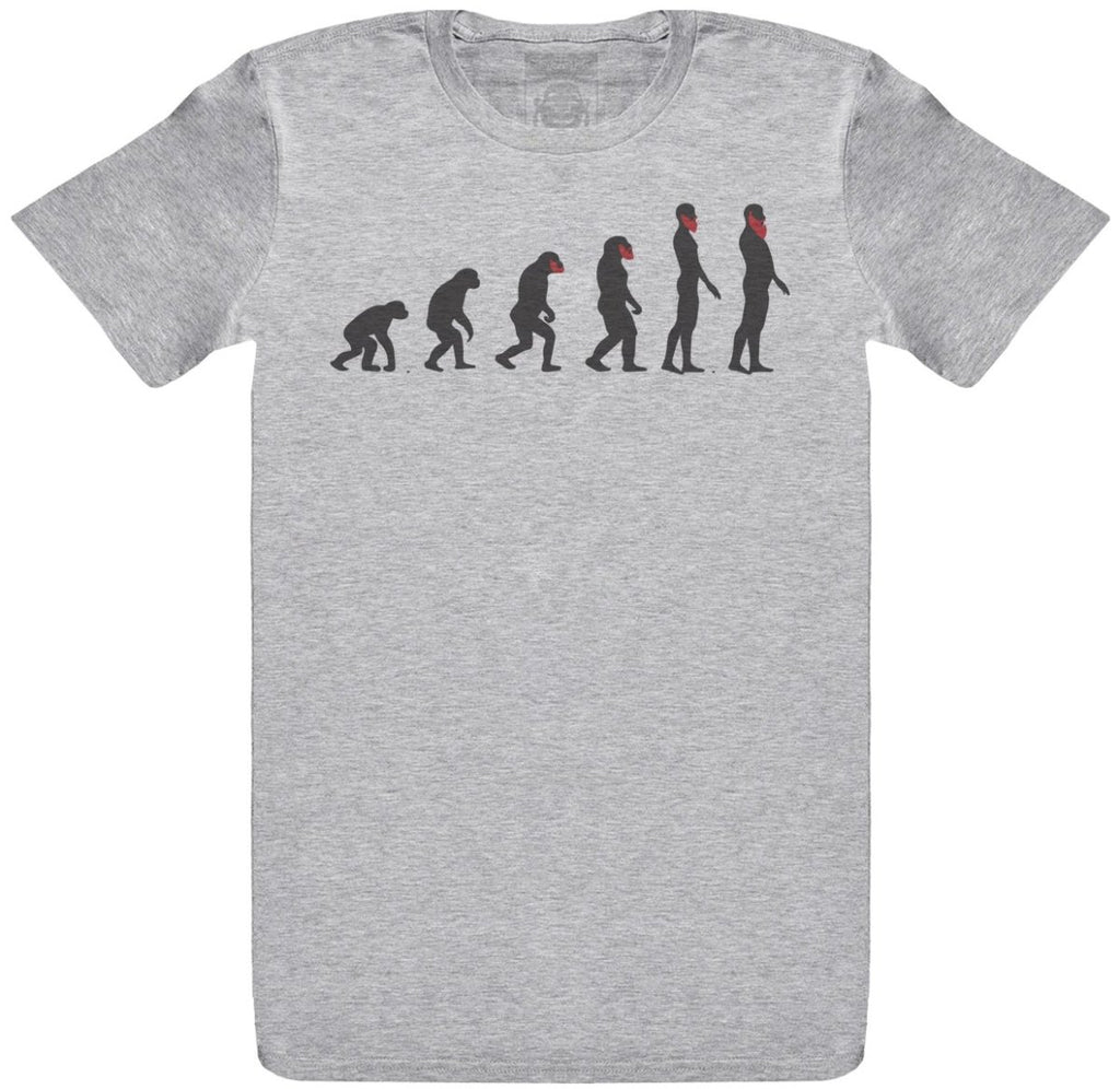 Evolution Of The Beard - Mens T-Shirt - The Gift Project