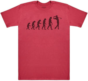 Evolution To A Golfer - Mens T-Shirt - The Gift Project
