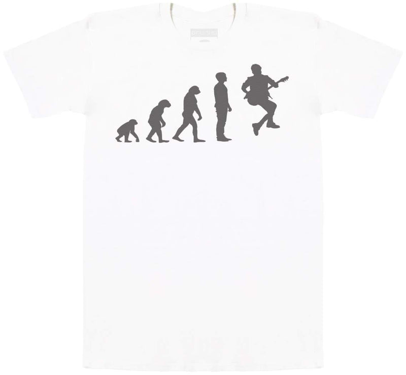 Evolution To A Guitarist - Mens T-Shirt - The Gift Project