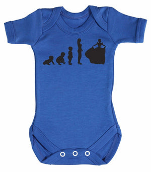 Evolution To A Princess Baby Bodysuit - The Gift Project