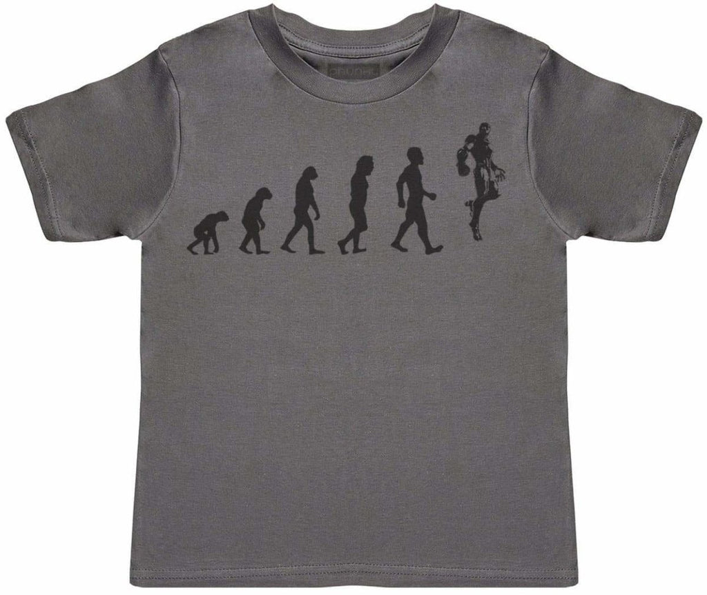 Evolution To Iron Man - Kids T-Shirt - The Gift Project
