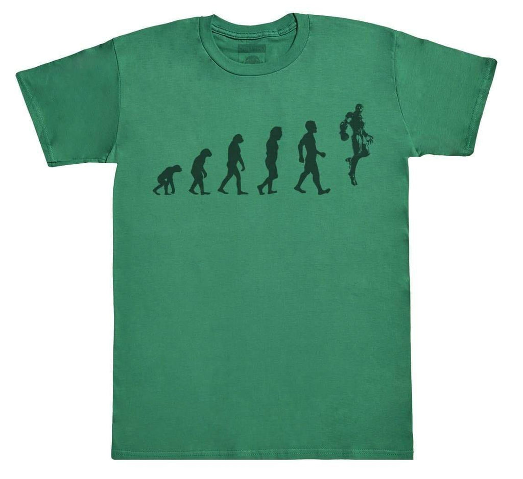 Evolution To Iron Man - Mens T-Shirt - The Gift Project