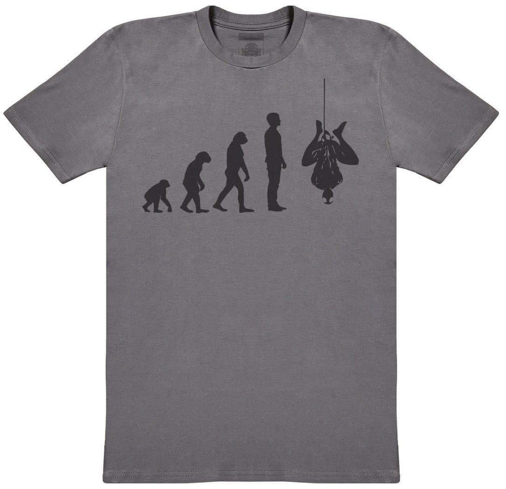 Evolution To Spider Man - Mens T-Shirt - The Gift Project