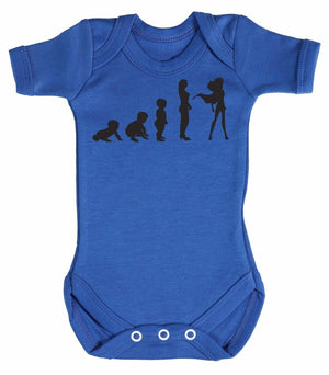 Evolution To SuperGirl Baby Bodysuit - The Gift Project