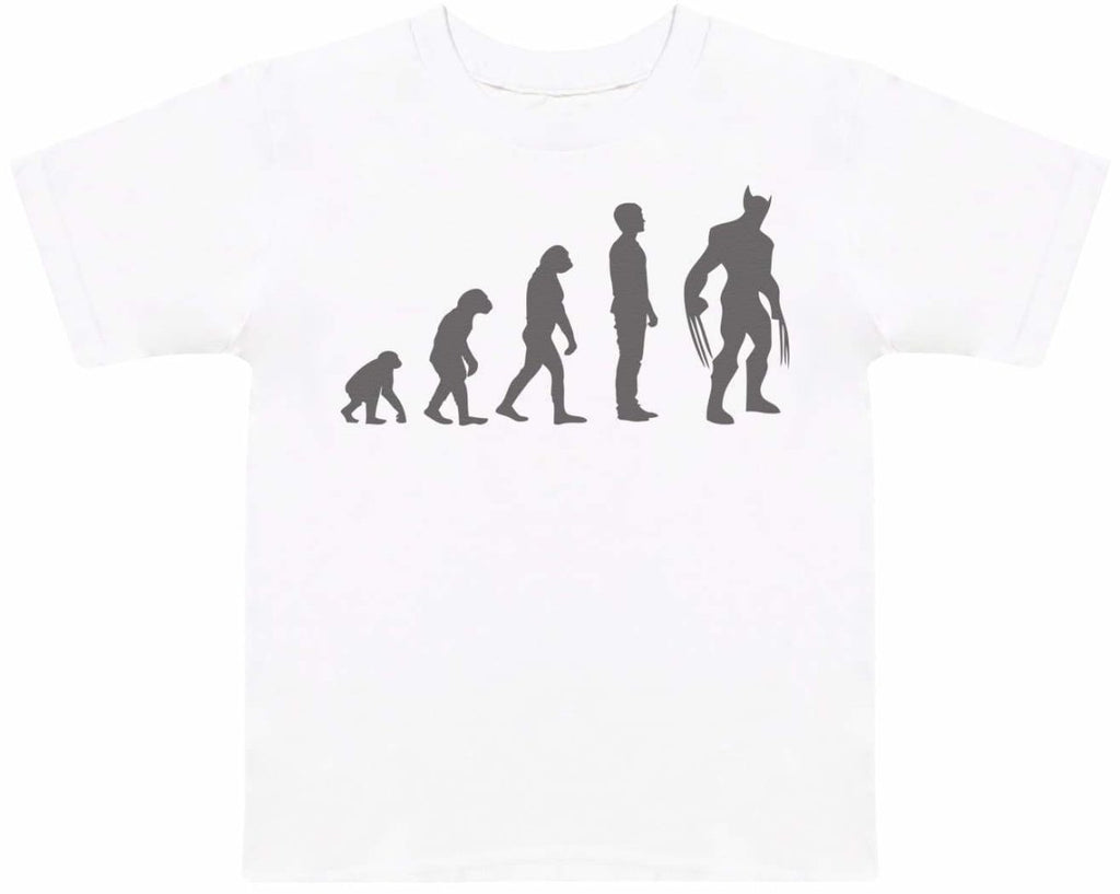 Evolution To Wolverine - Kids T-Shirt - The Gift Project