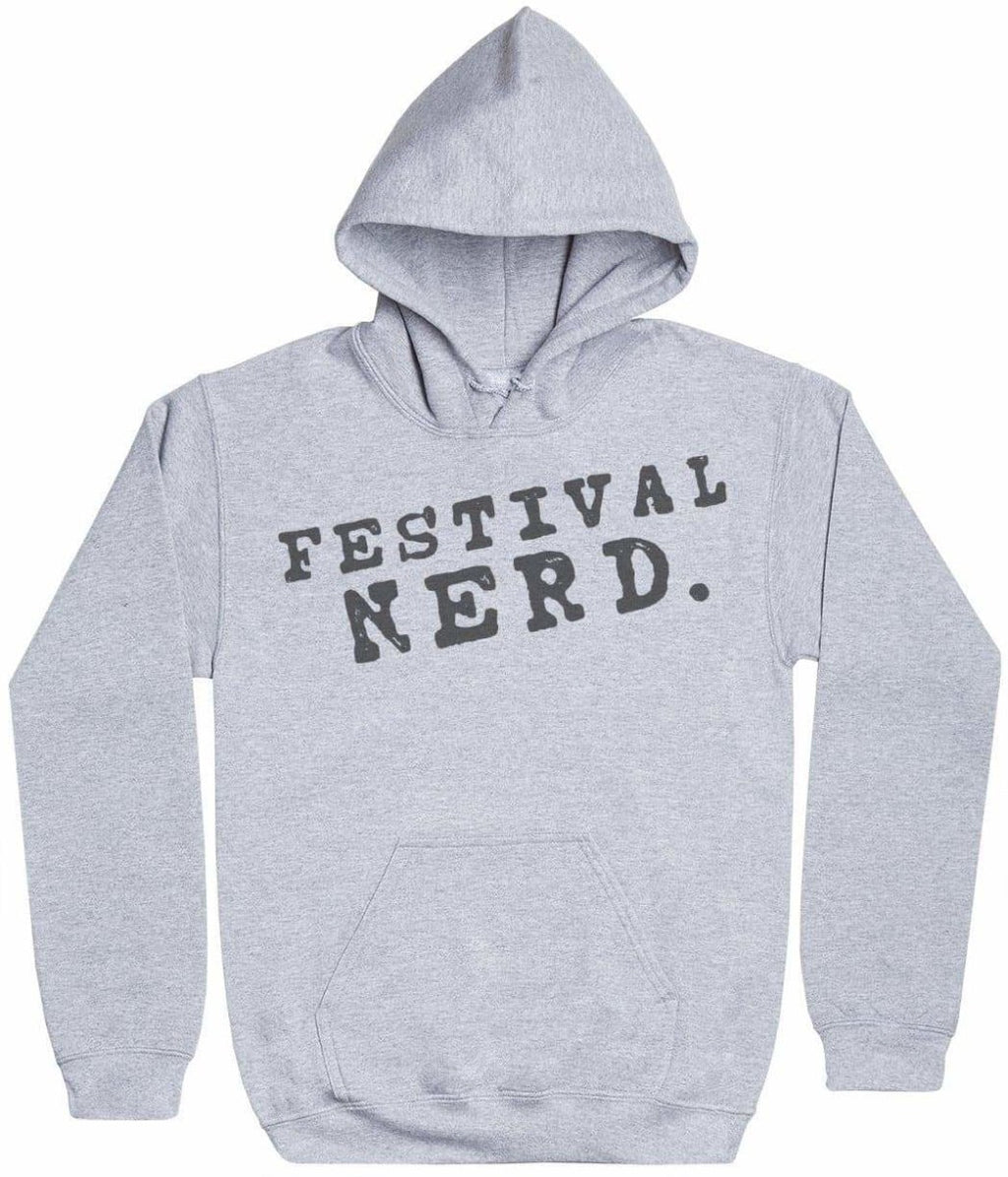 Festival Nerd. - Mens Hoodie - The Gift Project
