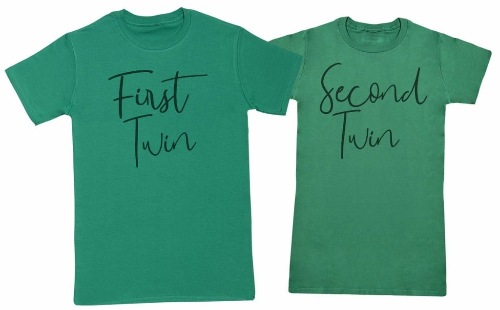 First Twin, Second Twin - Twin Set - Mens & Womens T-Shirts - (Sold Separately) - The Gift Project
