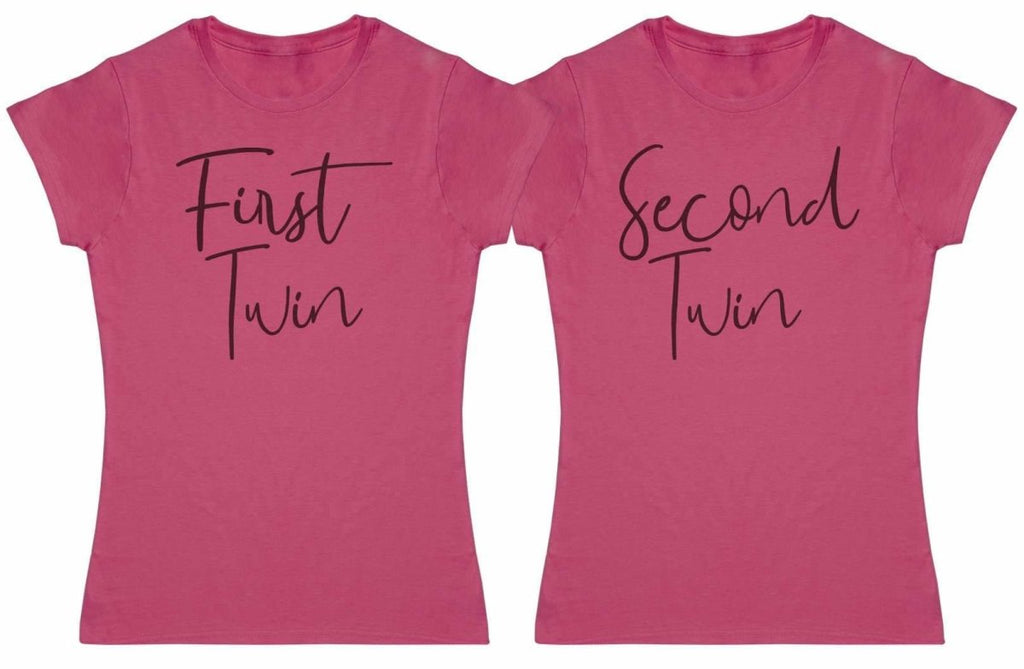 First Twin, Second Twin - Twin Set - Womens T-Shirts - (Sold Separately) - The Gift Project