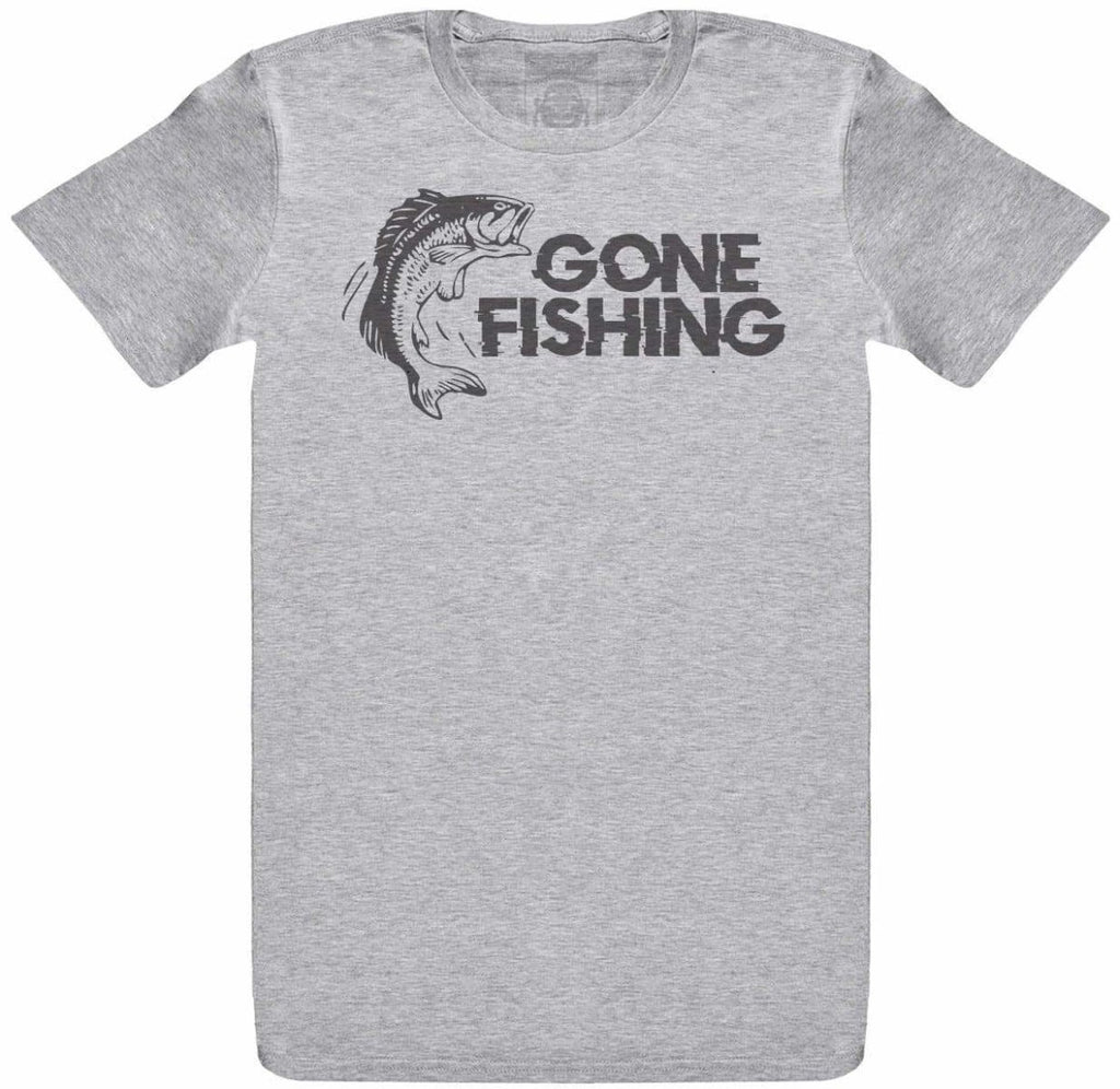 GONE FISHING - Mens T-Shirt - The Gift Project