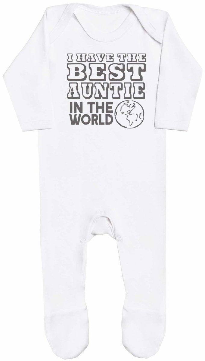 I Have The Best Auntie In The World Baby Romper - The Gift Project