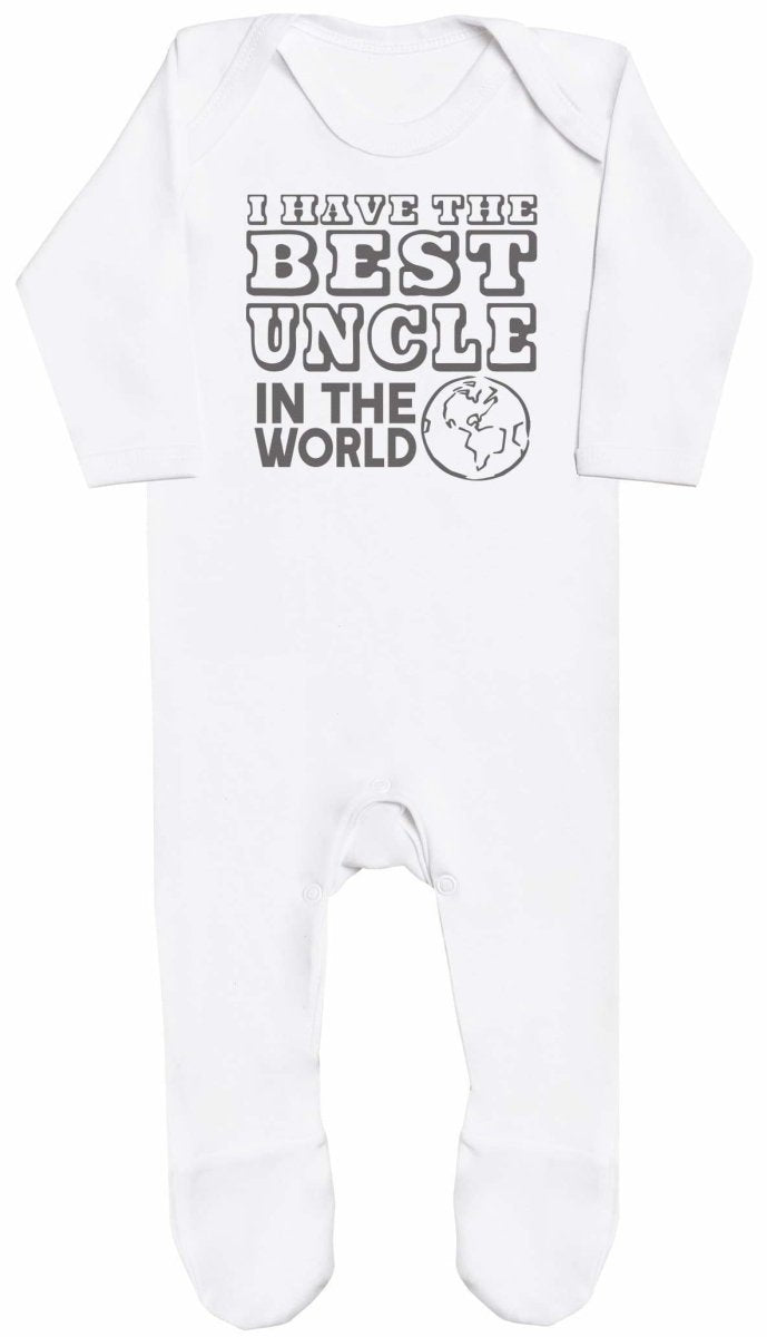 I Have The Best Uncle In The World Baby Romper - The Gift Project