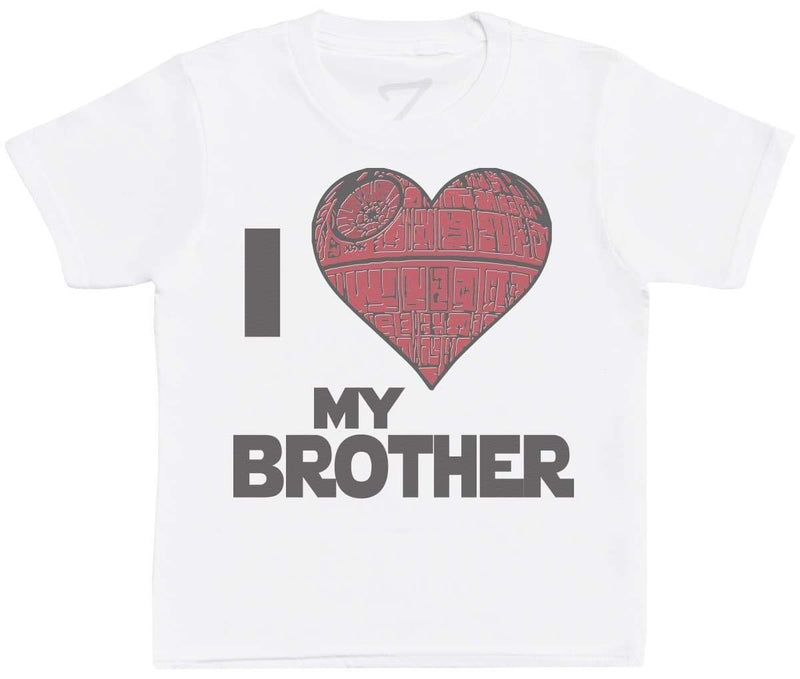 I Love My Brother Star Heart - Kids T-Shirt - The Gift Project