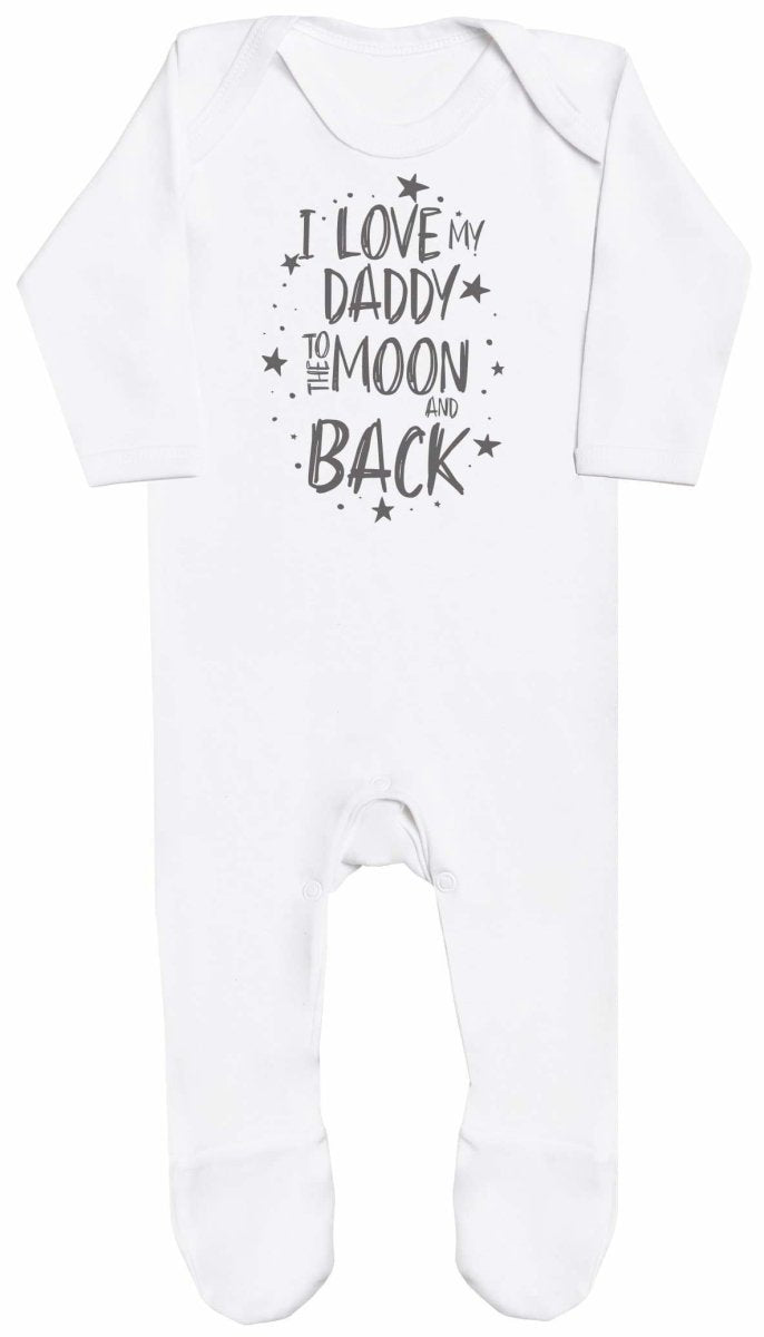I Love My Daddy To The Moon And Back Baby Romper - The Gift Project