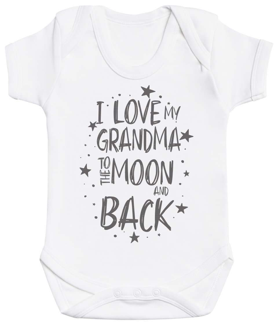 I Love My Grandma To The Moon And Back Baby Bodysuit - The Gift Project