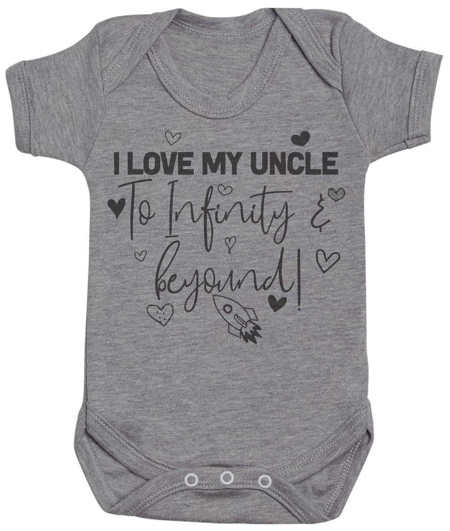 I Love My Uncle To Infinity & Beyond - Baby Bodysuit - The Gift Project