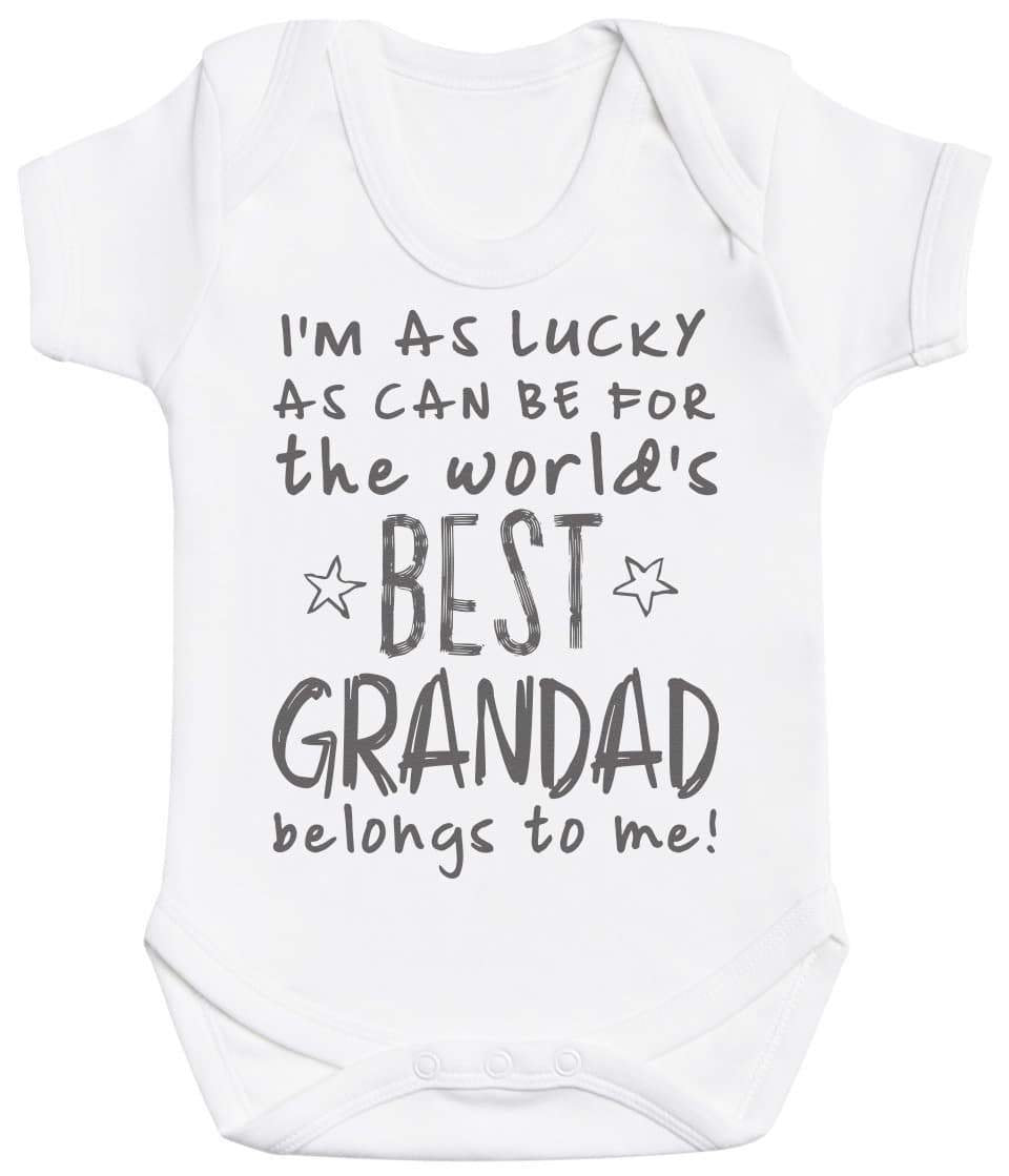 I'm As Lucky As Can Be Best Grandad belongs to me! Baby Bodysuit - The Gift Project
