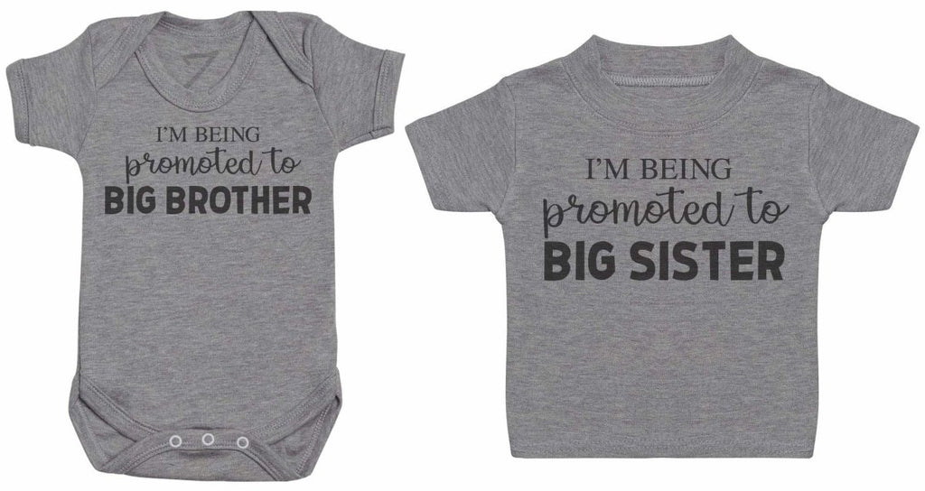 I'm Being Promoted - Matching Kids Set - Bodysuits & T-Shirts - Gift Set - The Gift Project