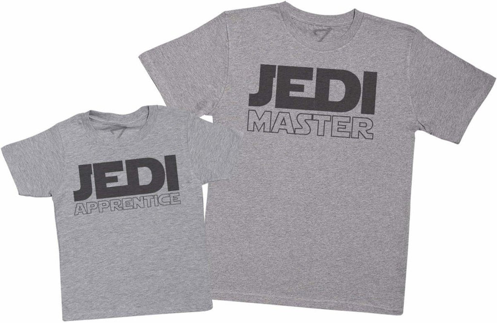 Jedi Master & Jedi Apprentice - Mens T Shirt & Kid's T-Shirt - The Gift Project
