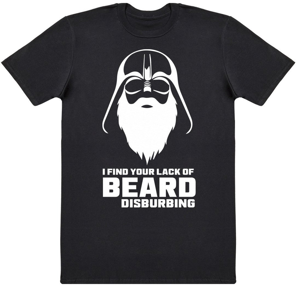 Lack Of Beard Disturbing - Mens T-Shirt - The Gift Project