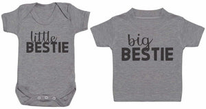 Little And Big Besties - Matching Kids Set - Bodysuits & T-Shirts - Gift Set - The Gift Project