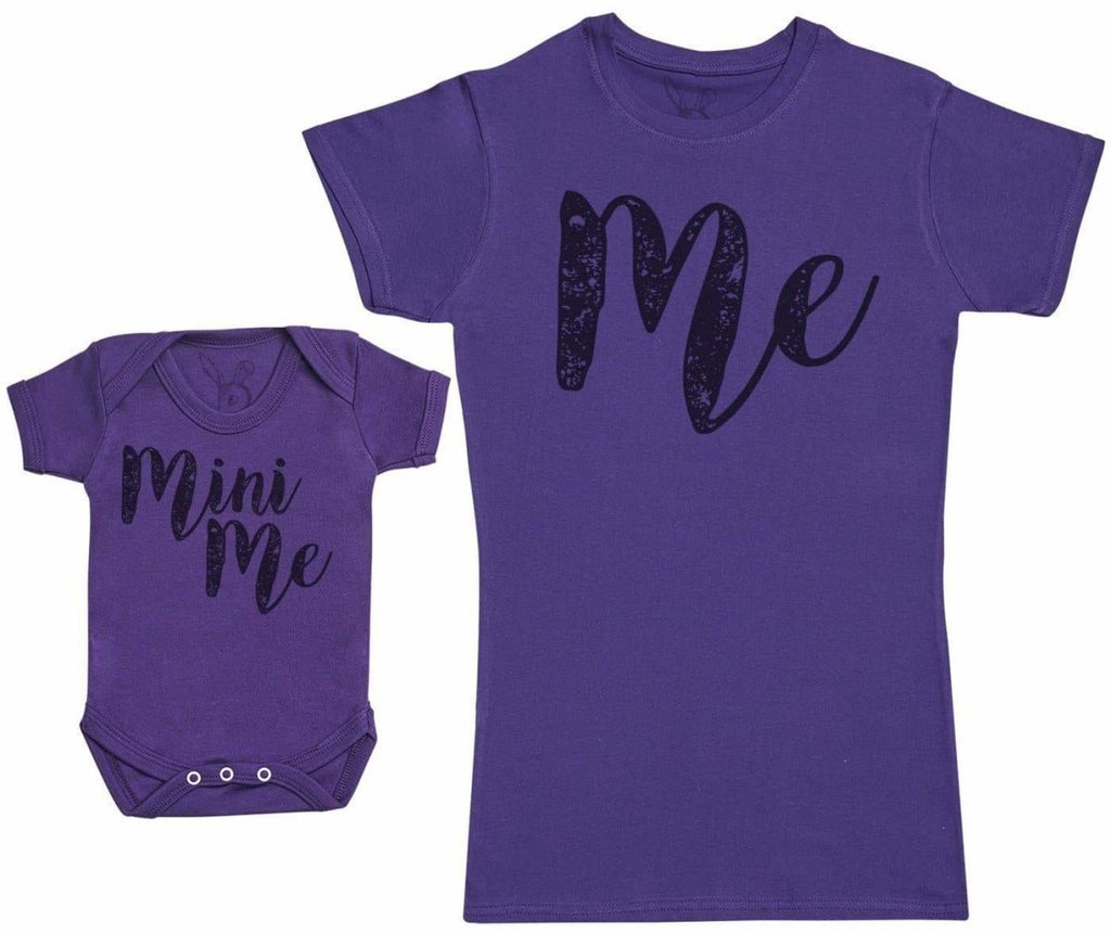 Me & Mini Me - Baby Gift Set with Baby Bodysuit & Mother's T - Shirt - The Gift Project