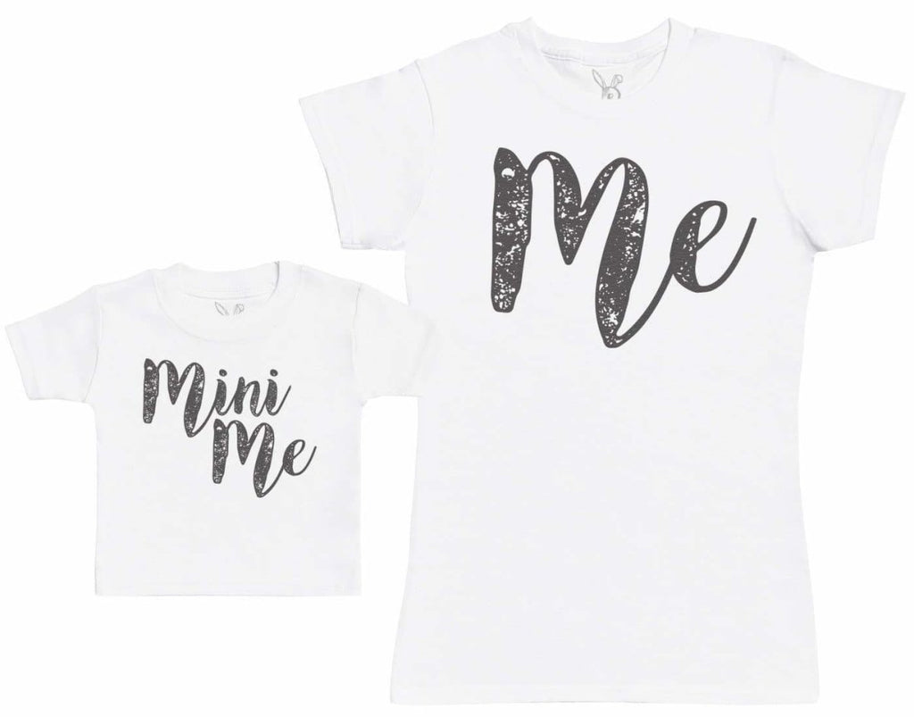 Me & Mini Me - Baby Gift Set with Baby T - Shirt & Mother's T - Shirt - The Gift Project