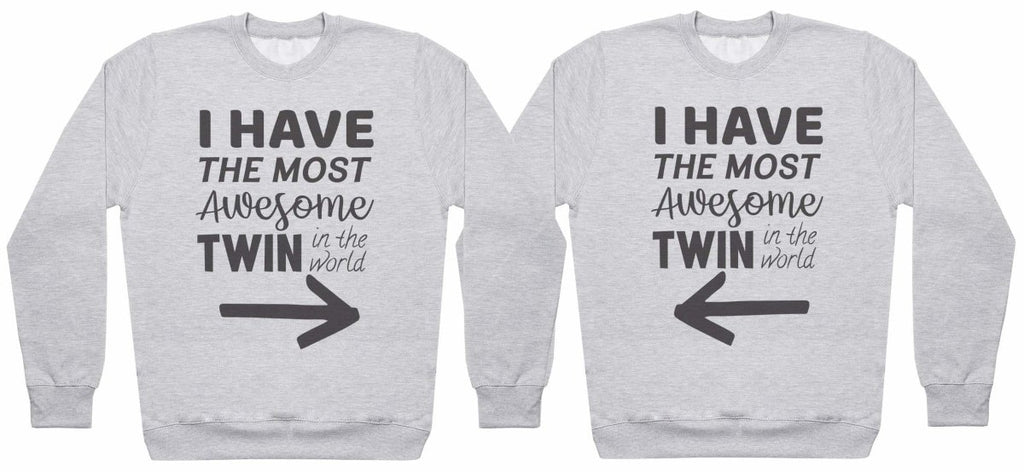 Most Awesome Twins - Twin Set - Mens Sweaters - (Sold Separately) - The Gift Project