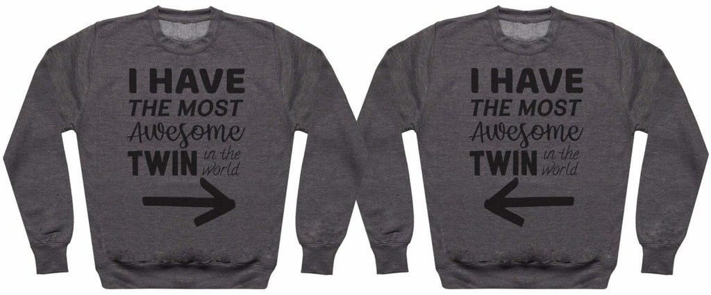 Most Awesome Twins - Twin Set - Womens Sweaters - (Sold Separately) - The Gift Project
