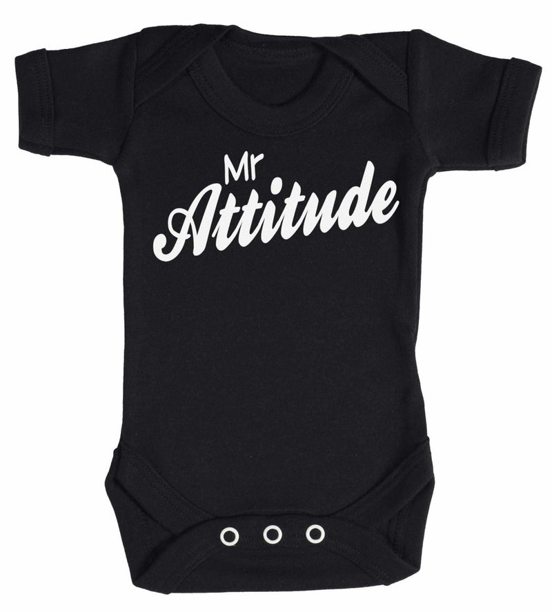 Mr Attitude Baby Bodysuit - The Gift Project