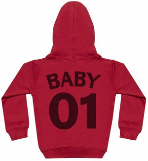 Mummy Baby 01 - Matching Set - Baby / Kids Hoodie & Mum Hoodie - The Gift Project