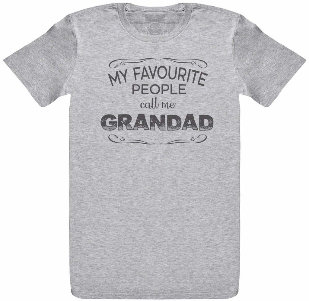 My Fav People Call Me Grandad - Mens T-Shirt - The Gift Project