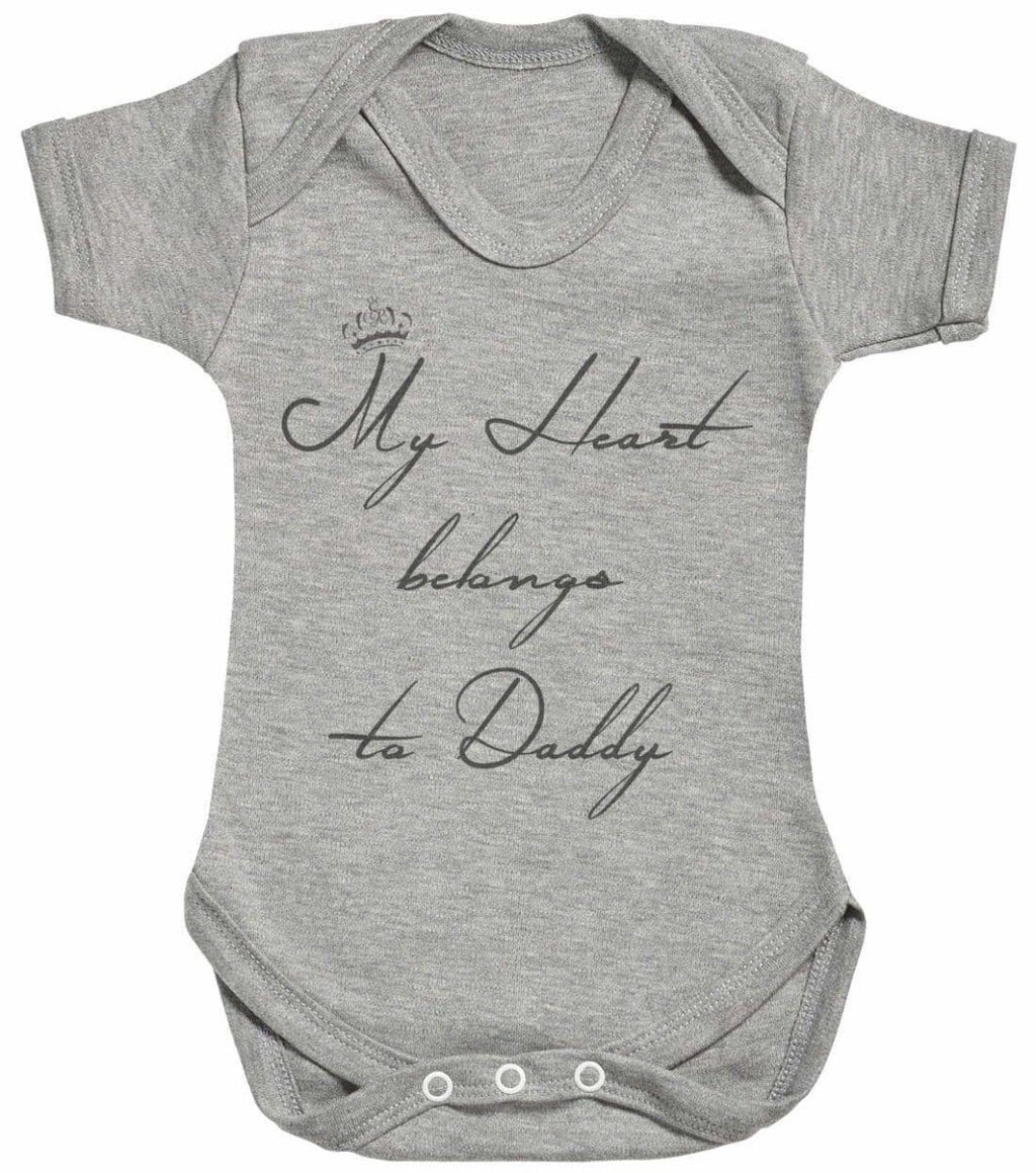 My Heart Belongs To Daddy Baby Bodysuit - The Gift Project