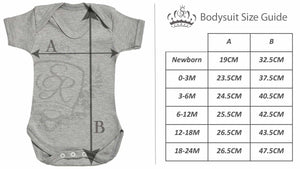 Personalised Loves Mum This Much Design Short Sleeve Baby Bodysuit - The Gift Project
