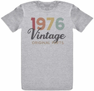 Personalised Vintage Original Parts - Mens T- Shirt - The Gift Project