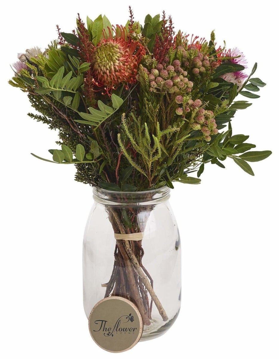 Safari Mix Exotic Fresh Flower Wrap - The Gift Project