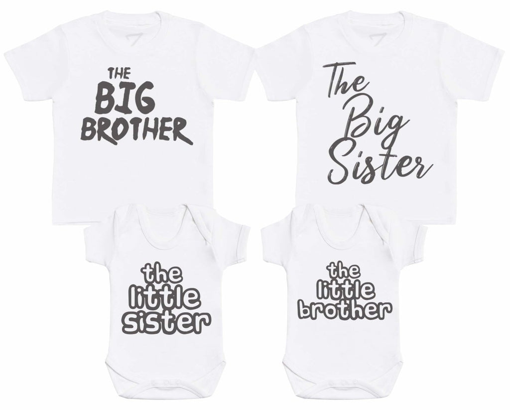 Sibling Set - Matching Kids Set - Bodysuits & T-Shirts - Gift Set - The Gift Project