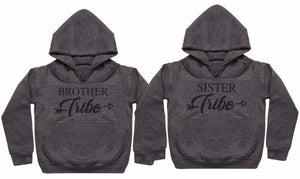 Sibling Tribe - Matching Kids Set - Baby / Kids Hoodies - Gift Set - The Gift Project