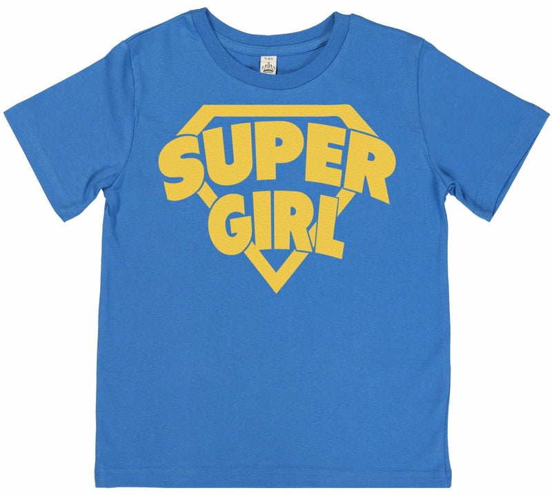 Super Girl - Kid's T Shirt - The Gift Project