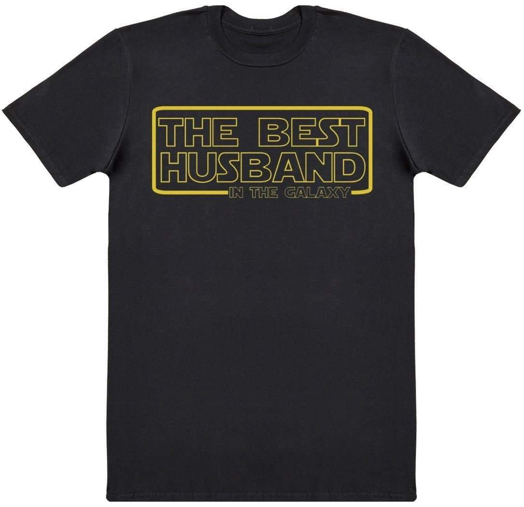 The Best Husband In The Galaxy - Mens T-Shirt - The Gift Project