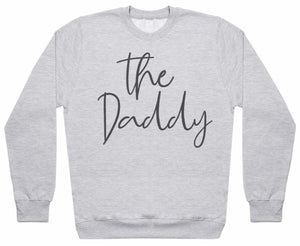 The Daddy And The Baby - Matching Set - Baby / Kids Sweater & Dad Sweater - The Gift Project