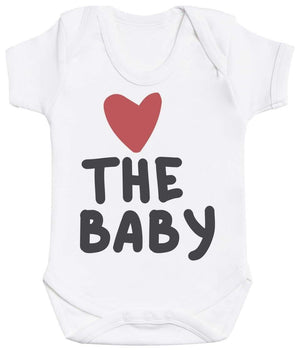 The Family Hearts - Matching Set - Baby Bodysuit & Kids T-Shirt, Mum & Dad T-Shirt - The Gift Project