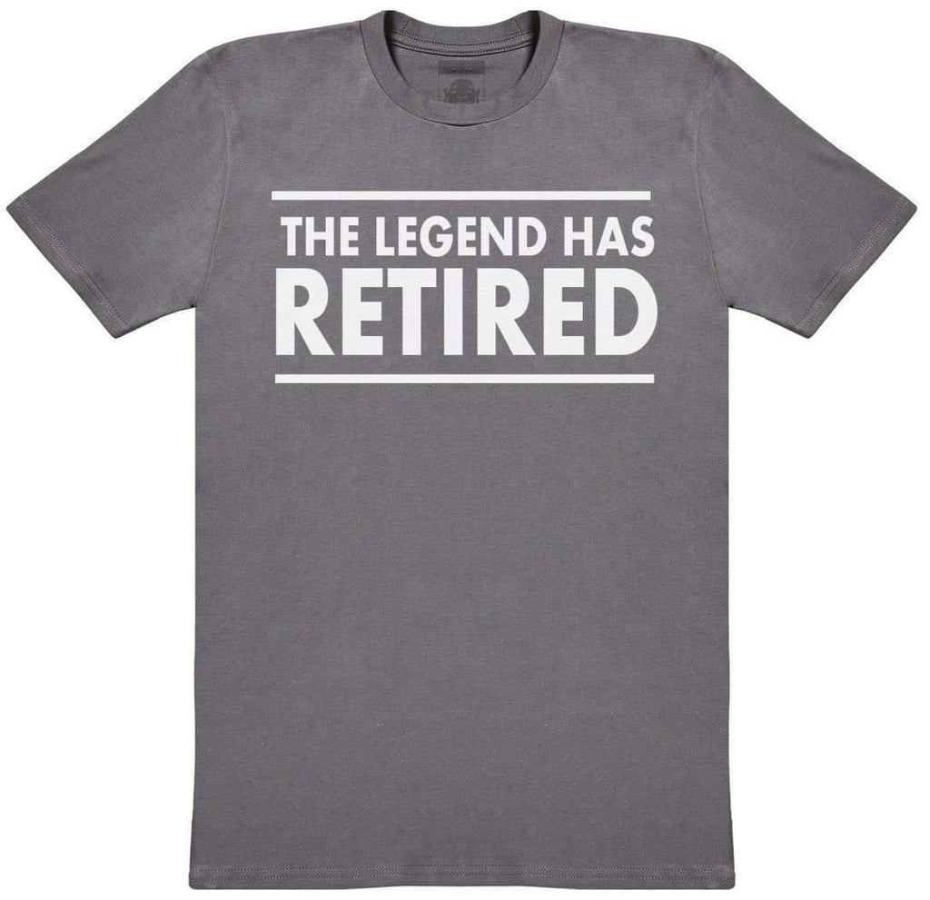 The Legend Has Retired - Mens T-Shirt - The Gift Project