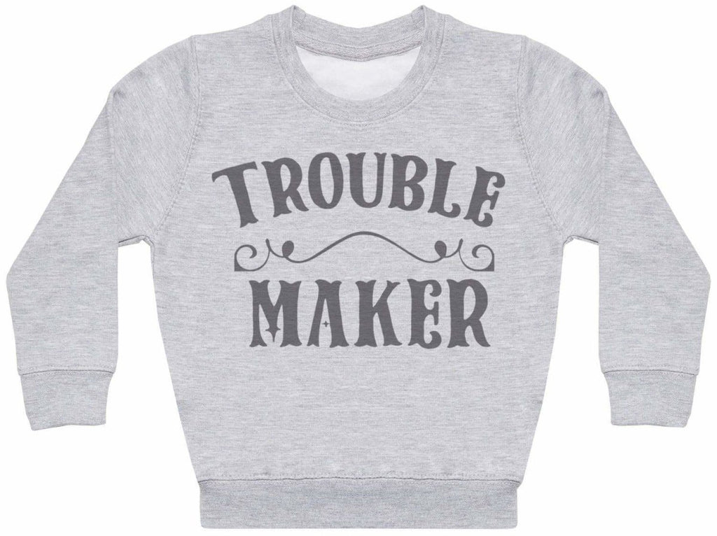 Trouble Maker- Kids Sweater - The Gift Project