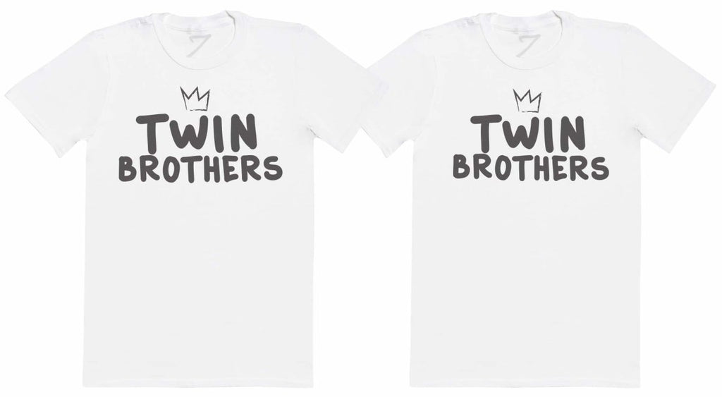 Twin Brothers - Twin Set - Mens T-Shirts - (Sold Separately) - The Gift Project