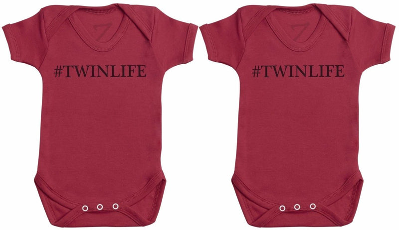 #Twin Life - Twin Set - Baby Bodysuits - The Gift Project