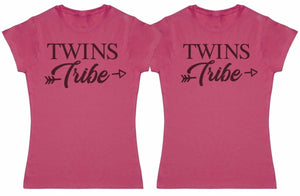 Twins Tribe - Twin Set - Womens T-Shirts - (Sold Separately) - The Gift Project