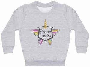 Unicorn Cousins - Matching Kids Set - Baby / Kids Sweaters - Gift Set