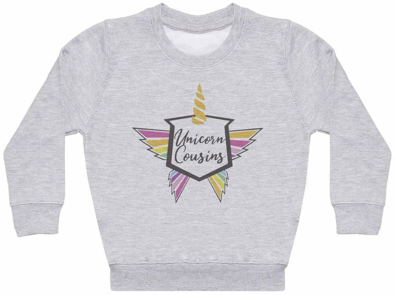 Unicorn Cousins - Matching Kids Set - Baby / Kids Sweaters - Gift Set - The Gift Project