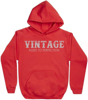 Vintage - Aged To Perfection - Mens Hoodie - The Gift Project